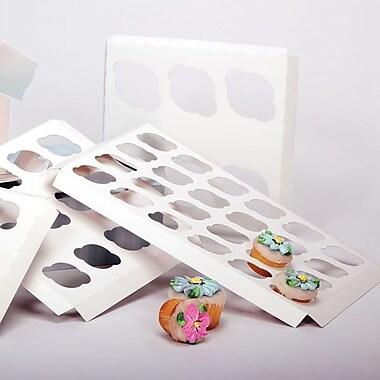 Shamrock 14in. x 10in. x 1/2in. Cupcake Inserts, 24 Minis