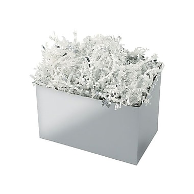 Shamrock 6 3/4in. x 4in. x 5in. Basket Box, Silver