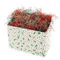 Shamrock 9in. x 5in. x 7 1/2in. Sweet Treat Basket Box, White/Red/Green