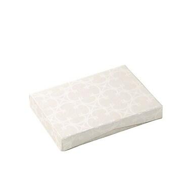 Shamrock 4 5/8in. x 3 3/8in. x 5/8in. Presentation Pop-Up Gift Card Box, Quatrefoil