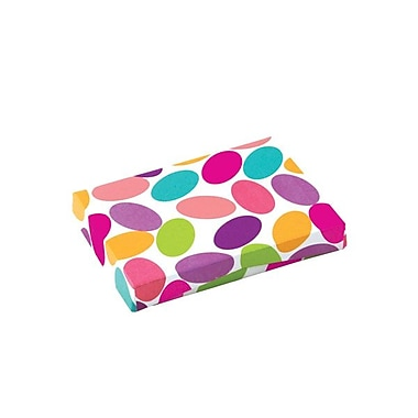 Shamrock 4 5/8in. x 3 3/8in. x 5/8in. Presentation Pop-Up Gift Card Box, Candy Confetti