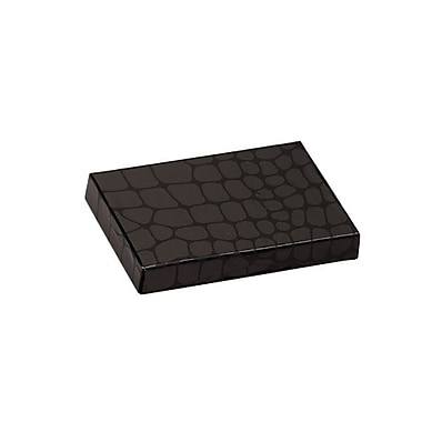 Shamrock 4 5/8in. x 3 3/8in. x 5/8in. Presentation Pop-Up Gift Card Box, Mock Croc