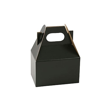 Shamrock 4in. x 2 1/2in. x 2 1/2in. Gable Box, Midnight Black
