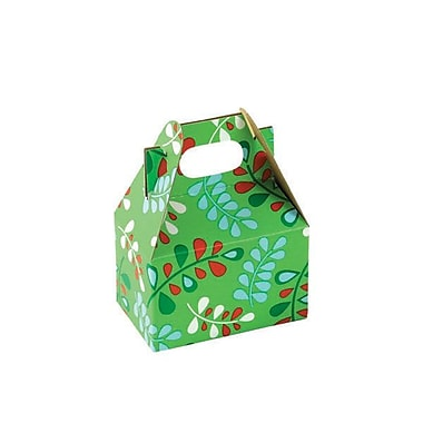 Shamrock 4in. x 2 1/2in. x 2 1/2in. Christmas Kiss Gable Box, Red/White/Green