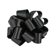 "Shamrock 7/8"" x 100 yds. Double Face Satin Ribbon, Black"