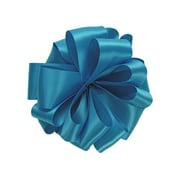 Shamrock 7/8 x 100 yds. Double Face Satin Ribbon, Turquoise