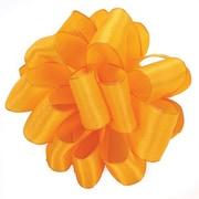 Shamrock 1 1/2 x 50 yds. Princess Wired Ribbon, Tropical Orange