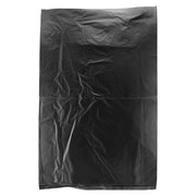 Shamrock Plastic 9.5H x 6.5W High Density Merchandise Bags, Black, 1000/Carton