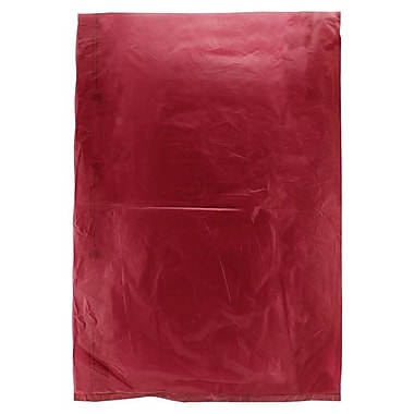 Shamrock 8 1/2in. x 11in. High Density Merchandise Bags, Burgundy Red