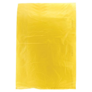 Shamrock 8 1/2in. x 11in. High Density Merchandise Bags, Yellow