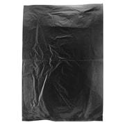 Shamrock Plastic 11H x 8.5W High Density Merchandise Bags, Black, 1000/Carton