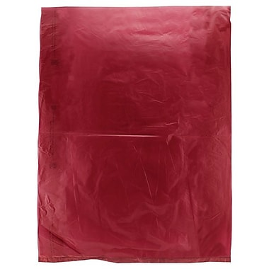 Shamrock 12in. x 15in. High Density Merchandise Bags, Burgundy Red