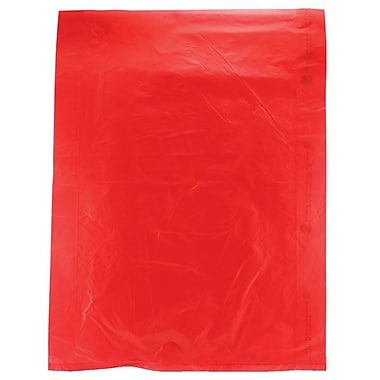 Shamrock 12in. x 15in. High Density Merchandise Bags, Red