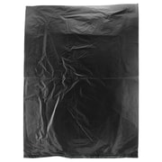 Shamrock Plastic 15H x 12W High Density Merchandise Bags, Black, 1000/Carton