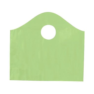 Shamrock 12in. x 11in. x 4in. Super Wave® Die Cut Handle Bags Pack, Citrus Green