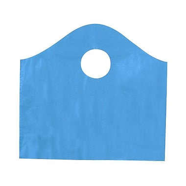 Shamrock 12in. x 11in. x 4in. Super Wave® Die Cut Handle Bags Pack, Lagoon Blue