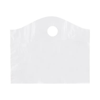Shamrock 18in. x 15in. x 6in. Super Wave® Die Cut Handle Bags, Frosted Clear