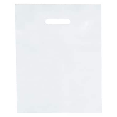 Shamrock 12in. x 15in. Low Density Patch Handle Bags, White