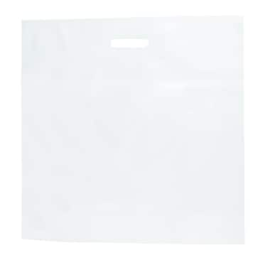 Shamrock 20in. x 20in. x 5in. Low Density Patch Handle Bags, White