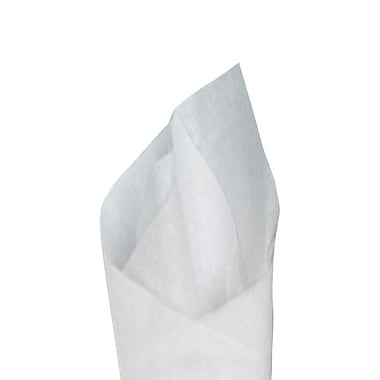 Shamrock 24in. x 9in. Satinwrap® Tissue Counter Roll, White