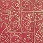 Shamrock 20 x 30 Printed Tissue Paper, Burgundy
