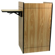 Amplivox Lectern, Non-Sound, Econ-Multimedia, Medium Oak
