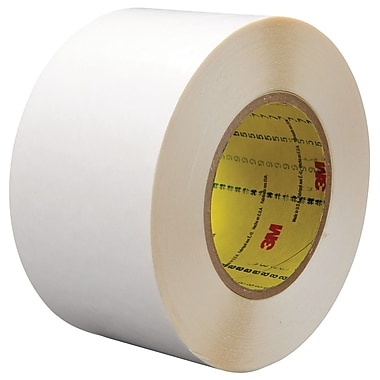 3M™ 3/4in. x 36 yds. Double Coated Film Tape 9579, White, 2/Pack