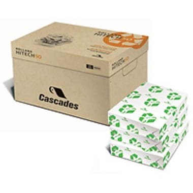 Cascades Rolland Enviro100™ Copy 8 1/2in. X 14in. 20 lbs. Multipurpose Paper, White, 5000/Case
