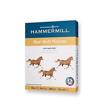 IP Hammermill® Fore® 8 1/2in. x 11in. 24 lbs. Multipurpose Bond Paper, White, 5000/Case