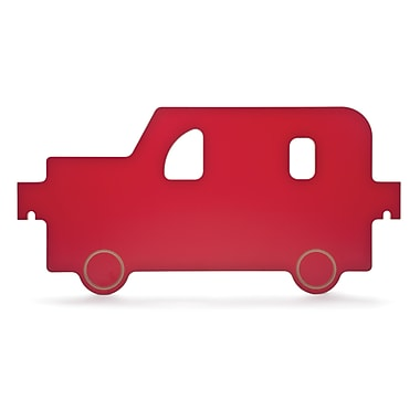 Whitney Brothers Room Divider Car Panel, Red