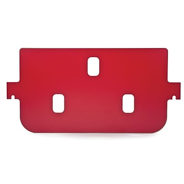 Whitney Brothers Room Divider Basic Panel, Red