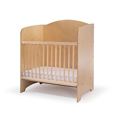 Whitney Brothers Privacy Crib, Natural