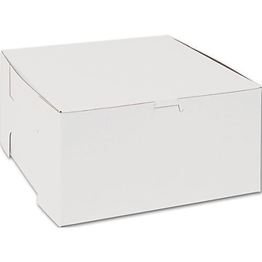 Cake Box with 6 Cupcake Insert, 10