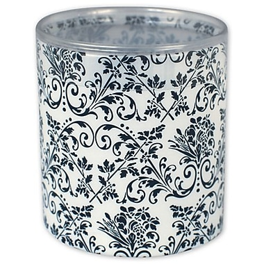 3in. x 3in. Damask Favor Boxes, White