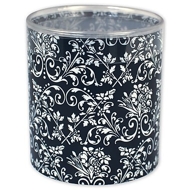 3in. x 3in. Damask Favor Boxes, Black