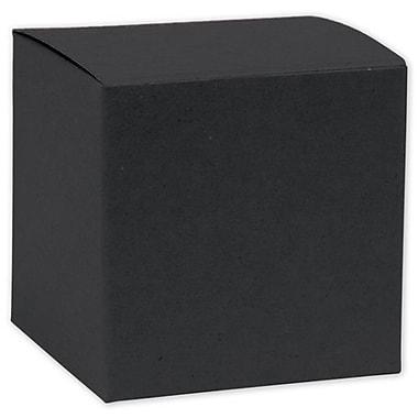 Boîte-cadeau nº 53, noir, 5 x 5 x 3 1/2 (po)