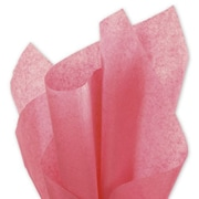 """20"""" x 30"""" Solid Tissue Paper, Island Pink"""