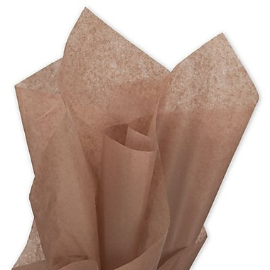 20in. x 30in. Solid Tissue Paper, Mocha