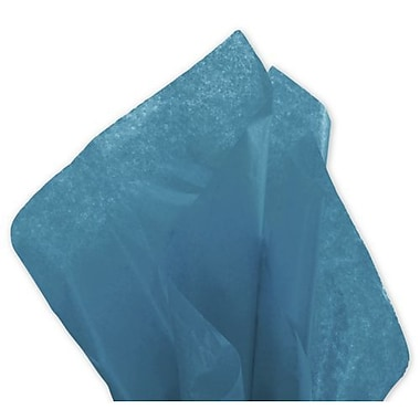 20in. x 30in. Solid Tissue Paper, Peacock Blue