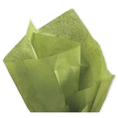20in. x 30in. Solid Tissue Paper, Green Tea