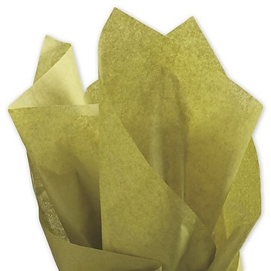 20in. x 30in. Solid Tissue Paper, Cactus Green