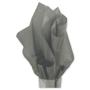 20in. x 30in. Solid Tissue Paper, Slate Gray