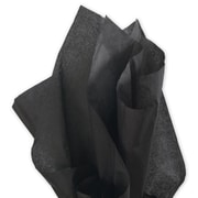 "20"" x 30"" Solid Tissue Paper, Black"