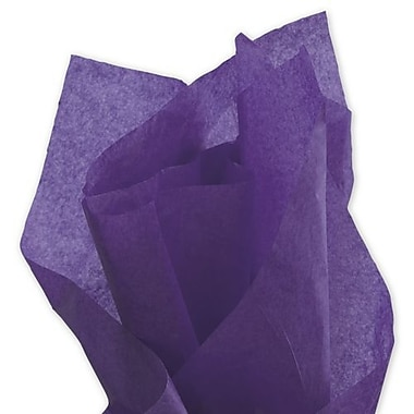 20in. x 30in. Solid Tissue Paper, Purple