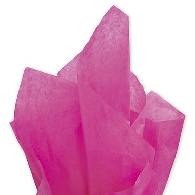 20in. x 30in. Solid Tissue Paper, Cerise