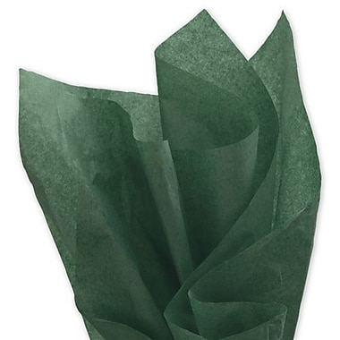 20in. x 30in. Solid Tissue Paper, Evergreen