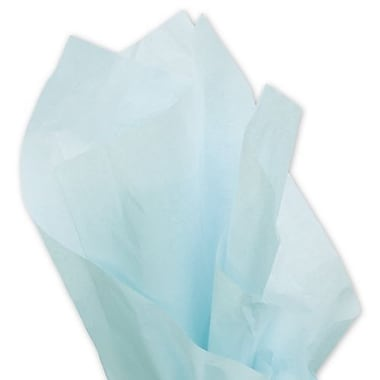 20in. x 30in. Solid Tissue Paper, Light Blue