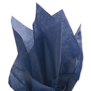 20in. x 30in. Solid Tissue Paper, Midnight Blue
