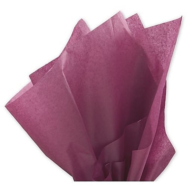 20in. x 30in. Solid Tissue Paper, Cabernet