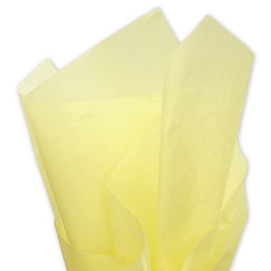 20in. x 30in. Solid Tissue Paper, Yellow